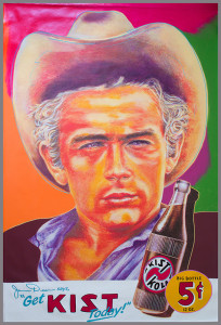 James Dean KIST 39 x 59 original 1998